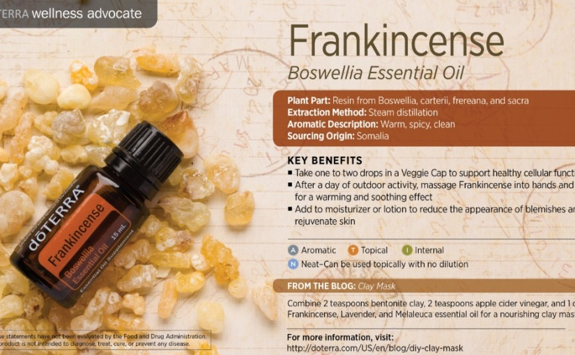 Frankincense: Body, Mind and Spirit