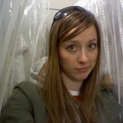 Me, at a bridal store, alone. BEFORE I was even engaged.
